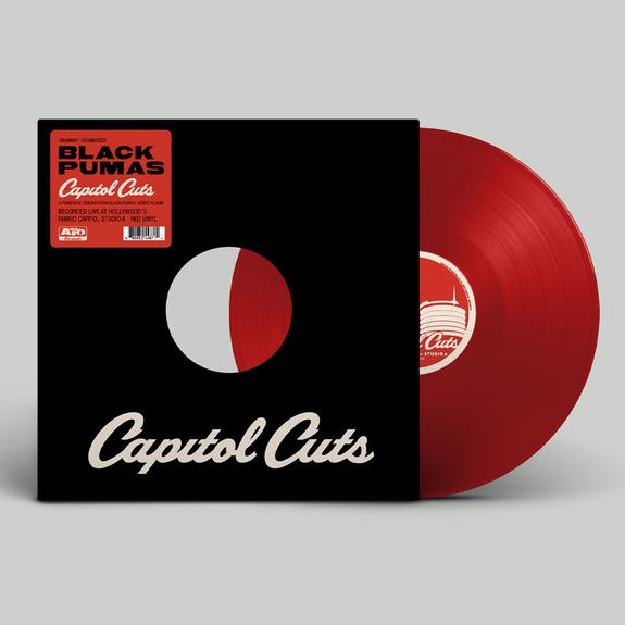 Black Pumas: Capitol Cuts: Red Vinyl