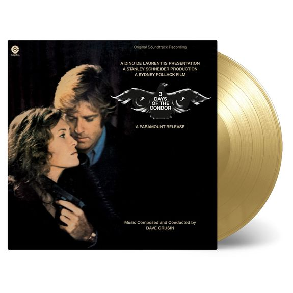Dave Grusin: Three Days Of The Condor: Original Soundtrack (Gold Numbered Vinyl)