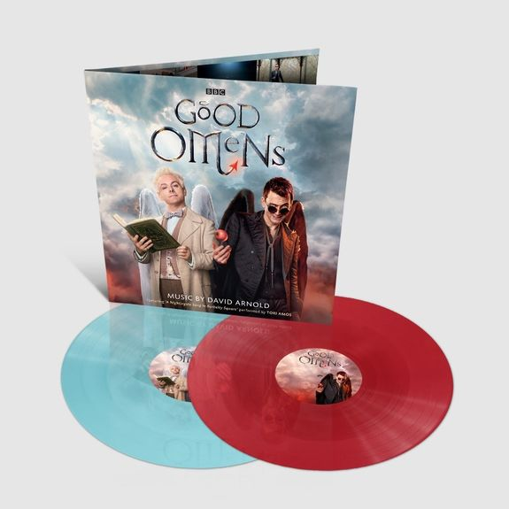 Original Soundtrack: Good Omens: Limited Edition 'Heavenly Blue' & 'Hellish Red' Double Vinyl