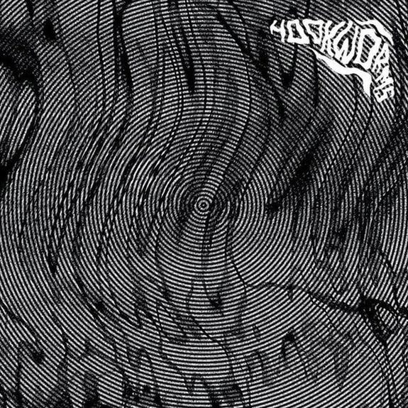 Hookworms: Hookworms: Black & White Splatter Vinyl