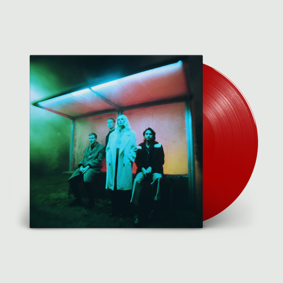 Wolf Alice: Blue Weekend: Limited Edition Transparent Red Vinyl, CD + Signed 12x12