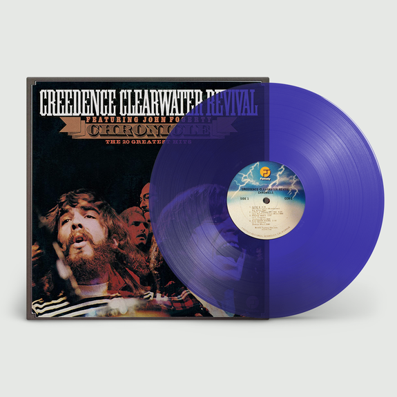 Creedence Clearwater Revival : Chronicle: 20 Greatest Hits: Limited Edition Transparent Blue Vinyl