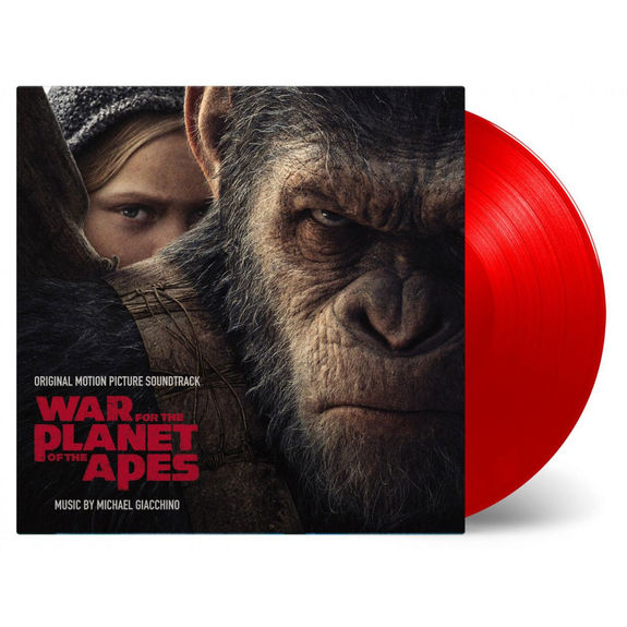 Michael Giacchino: War for the Planet of the Apes: Red Numbered Vinyl