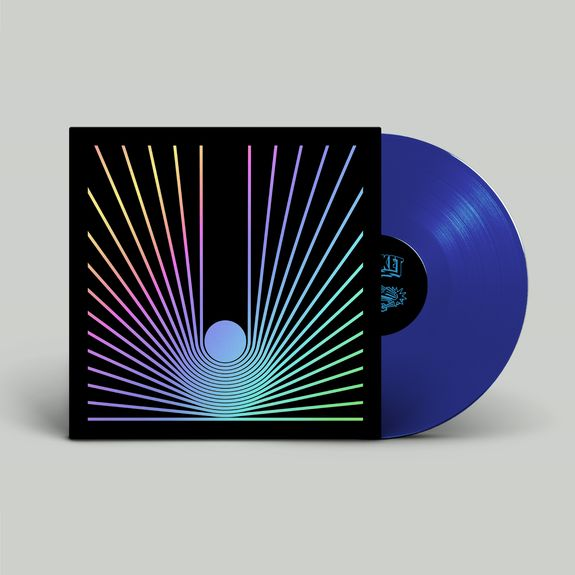 The Utopia Strong: The Utopia Strong: Limited Edition Dark Matter Transparent Blue Vinyl with Holographic Sleeve