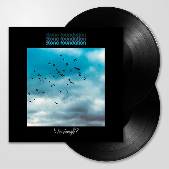 Stone Foundation: Is Love Enough?: Double Black Vinyl