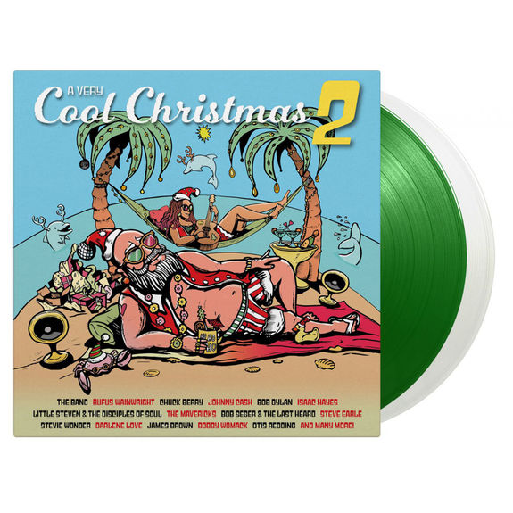 Various Artists: A Very Cool Christmas Volume 2: Limited Edition White & Green Vinyl