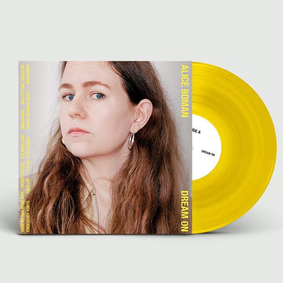 Alice Boman: Dream On: Signed Limited Edition Yellow Vinyl