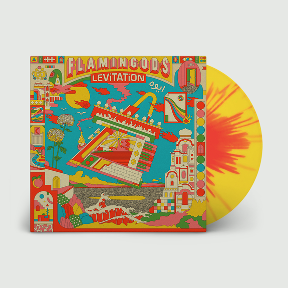 Flamingods: Levitation: Signed Red + Yellow Splatter Vinyl [Repress]