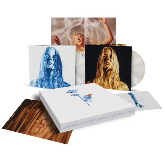 Ellie Goulding: Brightest Blue Signed CD Boxset