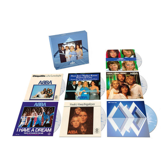 Abba: The Singles Coloured Vinyl Boxset
