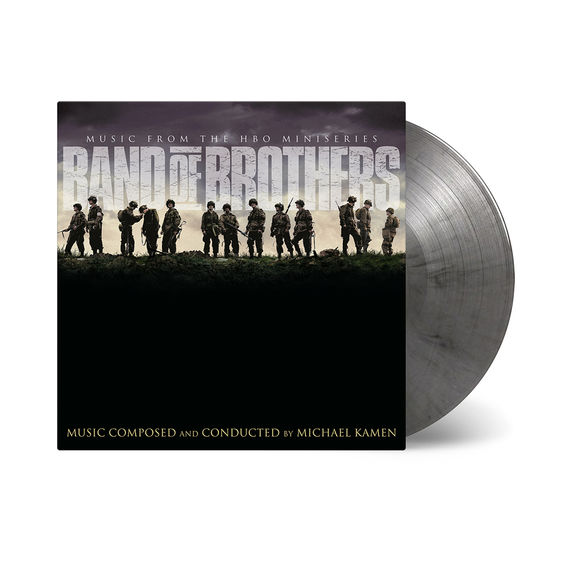 Original Soundtrack: Band Of Brothers: Limited Edition Silver & Black Marbled Double Vinyl