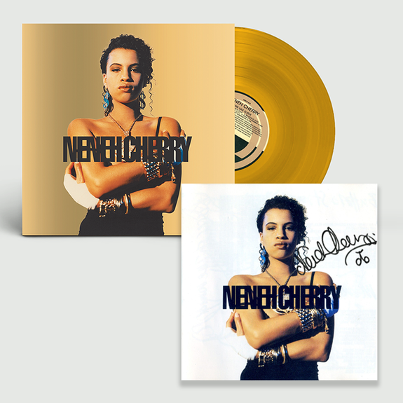 Neneh Cherry: Raw Like Sushi: Exclusive Gold Vinyl + Signed Lithograph