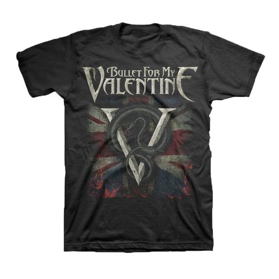 Bullet For My Valentine: British Invasion T-Shirt