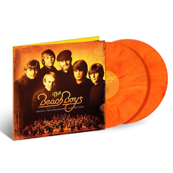 The Beach Boys: The Beach Boys With The Royal Philharmonic Orchestra: Exclusive Mixed Opaque Orange Vinyl