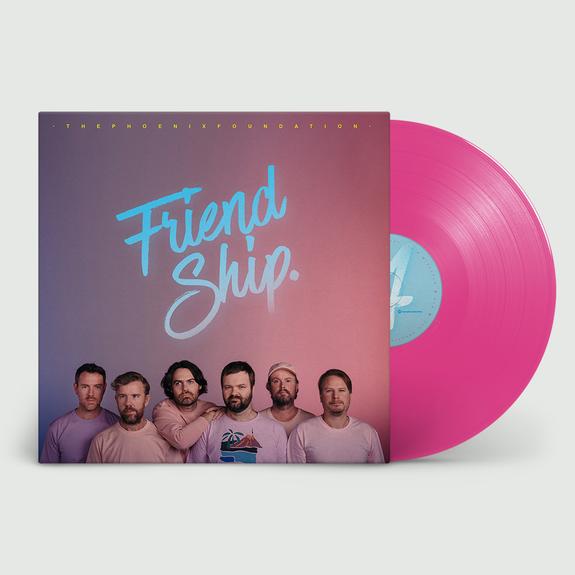 The Phoenix Foundation: Friend Ship: 180gm Pink Vinyl