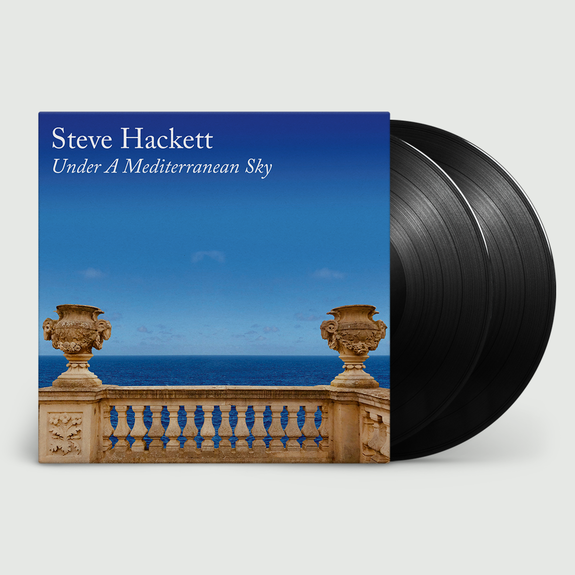 Steve Hackett: Under A Mediterranean Sky: Limited Edition Double LP + CD + Signed 10x10