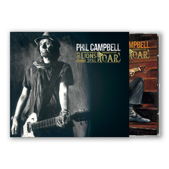 Phil Campbell: Old Lions Still Roar: Limited Edition CD in O-Card with Signed Insert