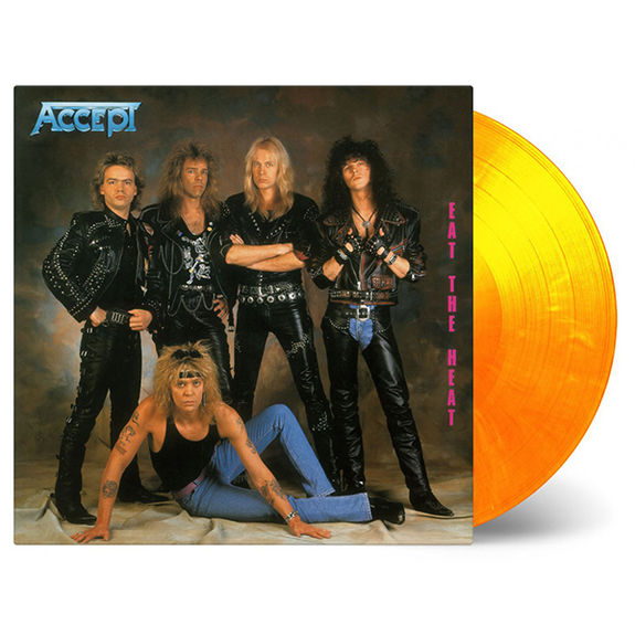 Accept: Eat The Heat: Limited Edition Coloured Vinyl