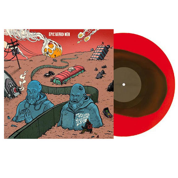 Epic Beard Men: This Was Supposed To Be Fun: Limited Edition Apocalypse Red x Sand Dunes Dark Tan Colour-In-Colour Vinyl