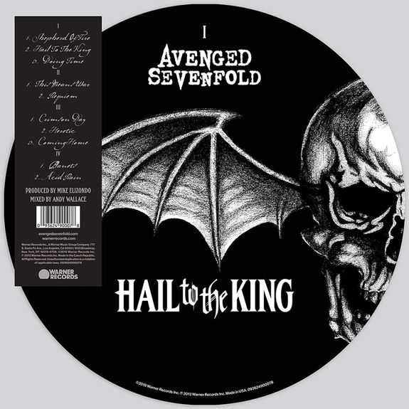 Avenged Sevenfold: Hail to the King: Limited Edition Picture Disc