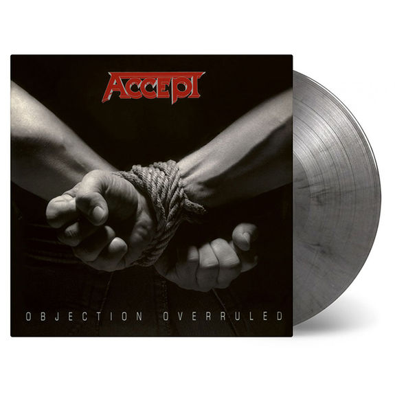Accept: Objection Overruled: Limited Edition Silver & Black Swirled Vinyl