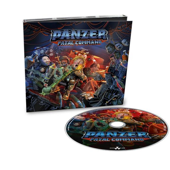 PANZER: Fatal Command: Limited Edition Digipack + Signed Insert