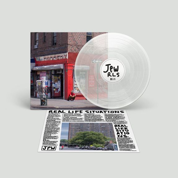 Juan Wauters: Real Life Situations: Recordstore Exclusive Clear Vinyl