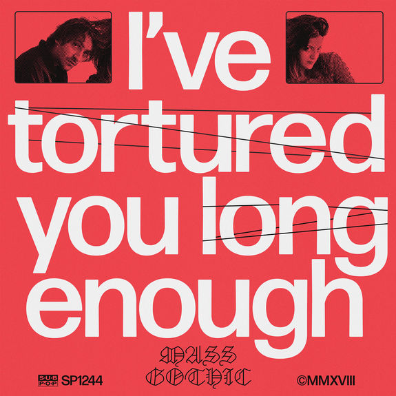 Mass Gothic: I've Tortured You Long Enough: Coloured Vinyl