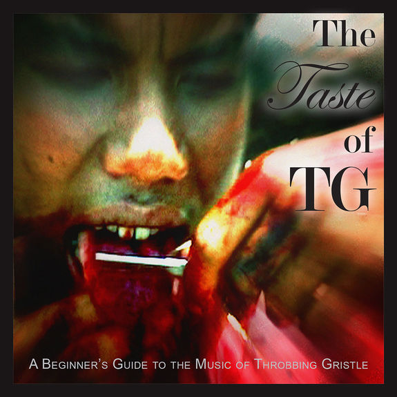 Throbbing Gristle: The Taste of TG (A Beginner's Guide to the Music of Throbbing Gristle): Red Vinyl