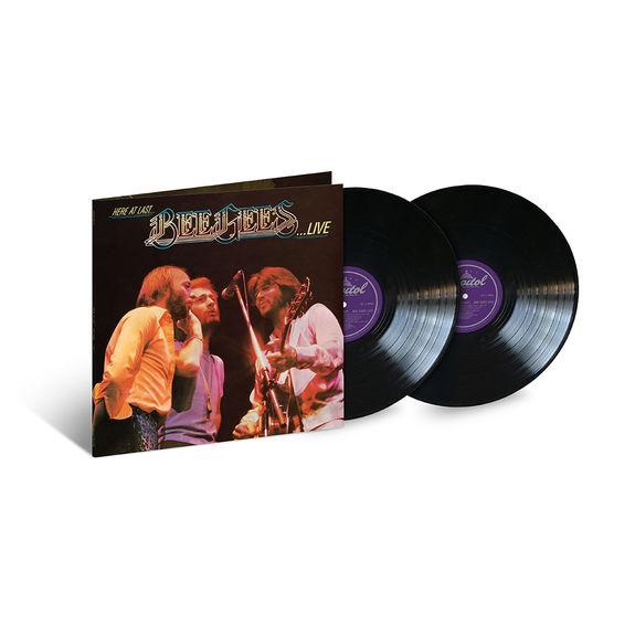 Bee Gees: Here At Last… Bee Gees Live: Black Vinyl