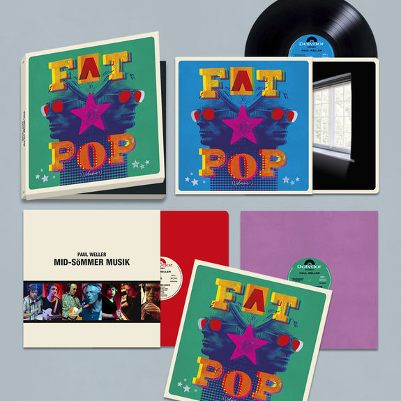 Paul Weller: Fat Pop Deluxe Vinyl Boxset