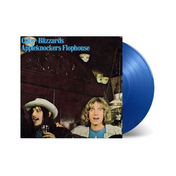 Cuby + Blizzards: Appleknockers Flophouse: Limited Edition Transparent Blue Vinyl