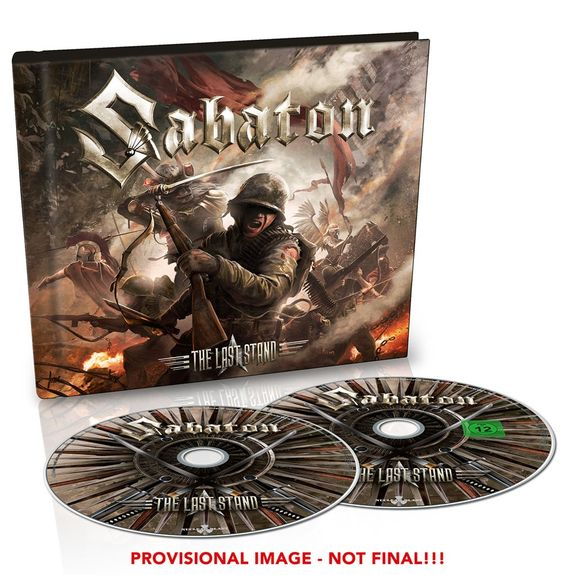 Sabaton: The Last Stand: Ltd Edition CD/DVD Digibook