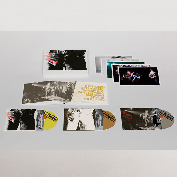 The Rolling Stones: Sticky Fingers Deluxe Edition Boxset