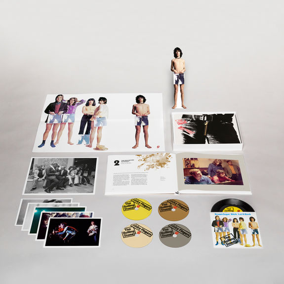 The Rolling Stones: Sticky Fingers Super Deluxe Edition Boxset