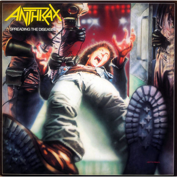 Anthrax: Spreading The Disease LP
