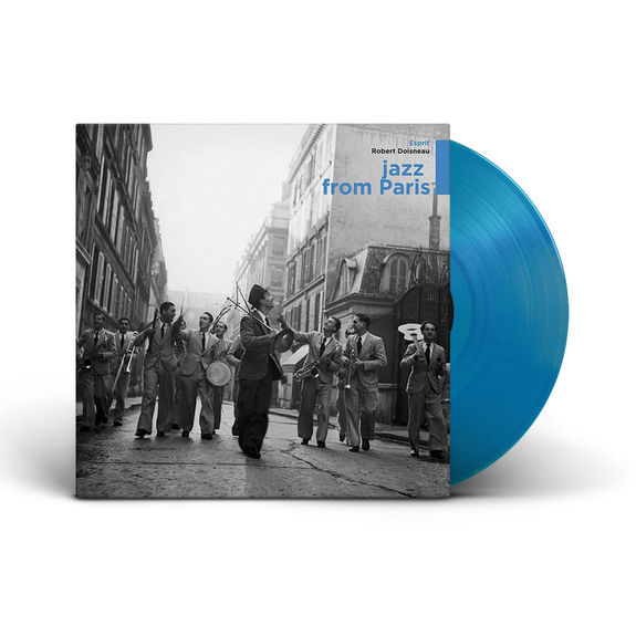 Various Artists: Jazz From Paris: Limited Edition Blue Vinyl