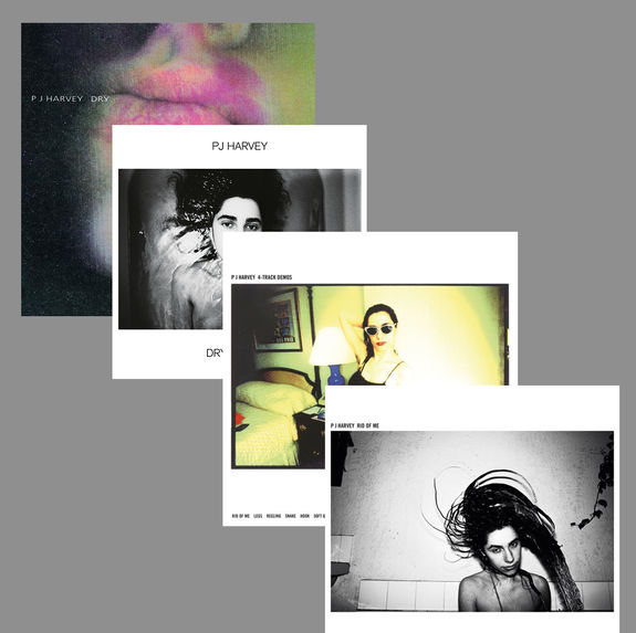 PJ Harvey: Dry + Dry - Demos + Rid Of Me + 4-Track Demos: Album Bundle