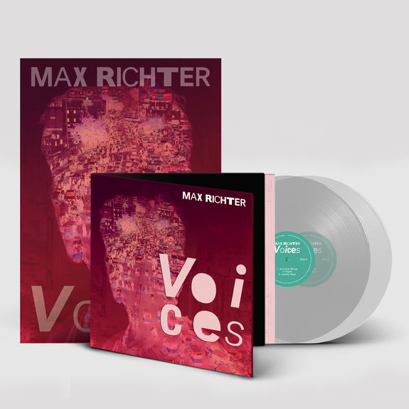 Max Richter: Signed Voices Exclusive LP & Art Print Bundle