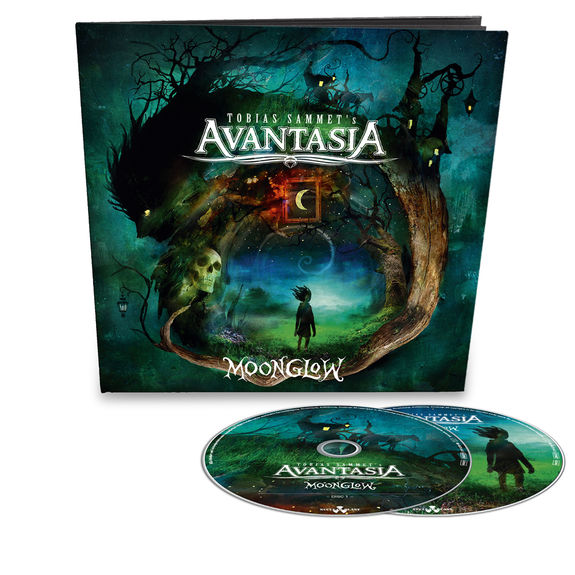 Avantasia: Moonglow: Limited Edition 64-Page 2CD Artbook with signed insert