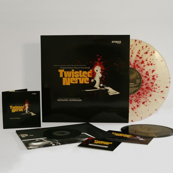 Bernard Herrmann: Twisted Nerve: Black Super Deluxe Edition