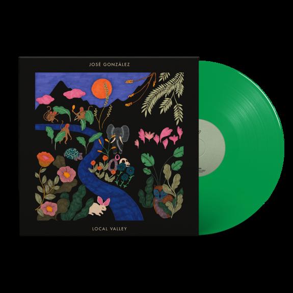 Jose Gonzalez: Local Valley: Limited Edition Translucent Green Vinyl LP