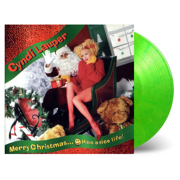 Cyndi Lauper: Merry Christmas...Have a Nice Life!: Limited Green Vinyl Edition