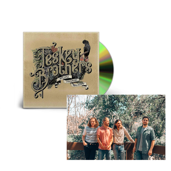 The Teskey Brothers: Run Home Slow CD & Signed Postcard