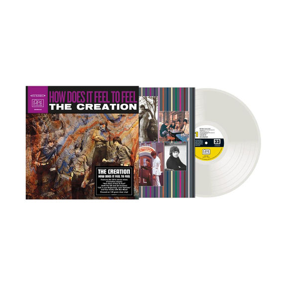The Creation: How Does It Feel To Feel?: Limited Edition 140g Clear Vinyl