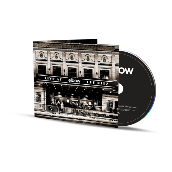 Elbow: Live at The Ritz – An Acoustic Performance Softpack CD