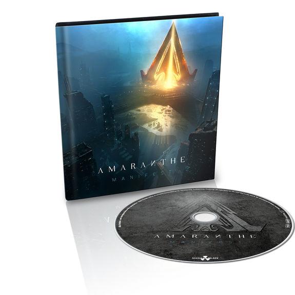Amaranthe: Manifest: Limited Edition Mediabook CD + Signed Photocard