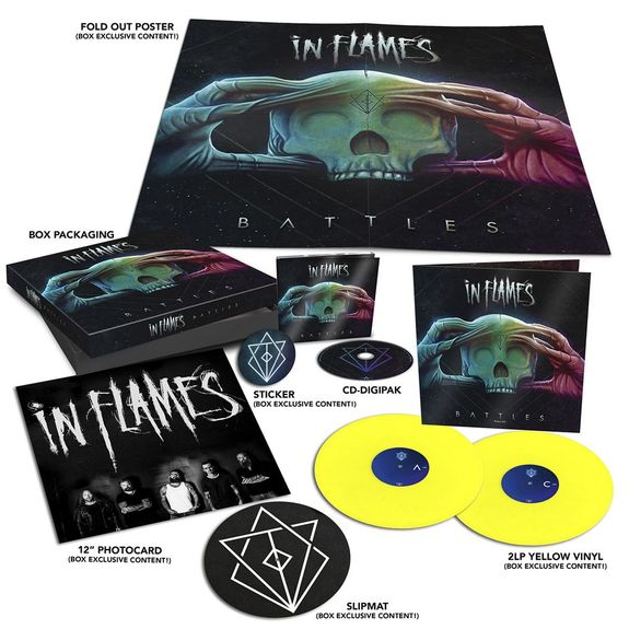 In Flames: Battles: Limited Edition Box Set