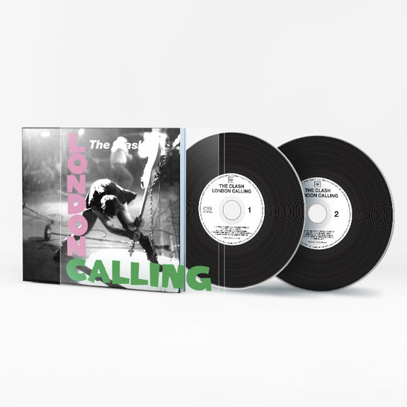 The Clash: London Calling: 40th Anniversary Edition Special Sleeve CD