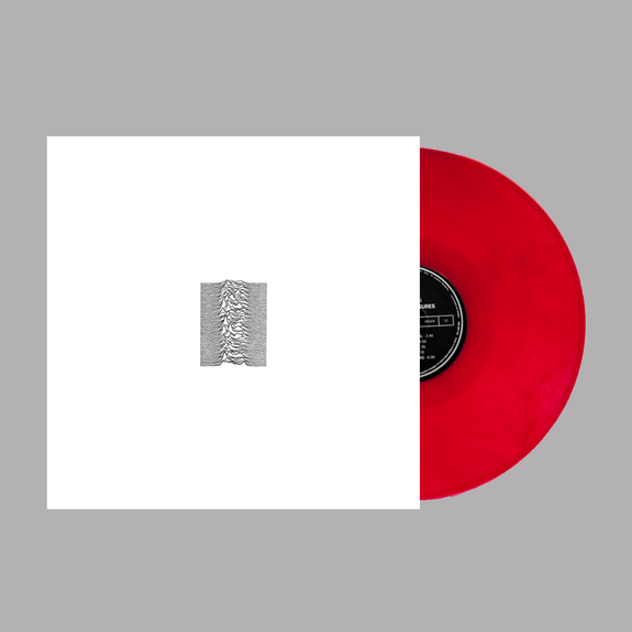 Joy Division: Unknown Pleasures: Limited 40th Anniversary Edition Red Vinyl